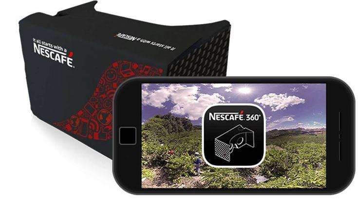 Nescafe 360 rzeczywistość wirtualna
