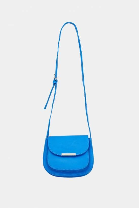 TERRANOVA borsa tracolla  Codice Articolo: SAC0005073001S350   borsa piccola , modello postina in ecopelle   Colore: Blu denim chiaro    € 7,99