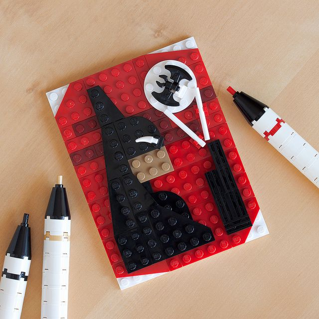 Beware the Batman - Brick Sketches, Pop Culture Characters Recreated in LEGO