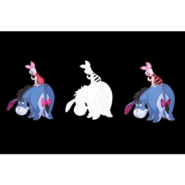 Disney Winnie The Pooh Eeyore and Piglet Die (389771) | Create and Craft