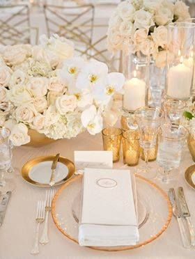 ... about Cream Candles on Pinterest  Gold Candles, Favors and Weddings