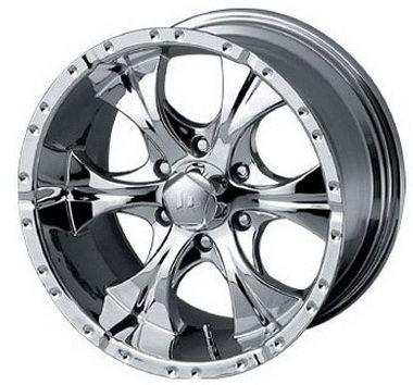 17 inch Helo Wheels HE791 - 17x9.0 Chrome Rims