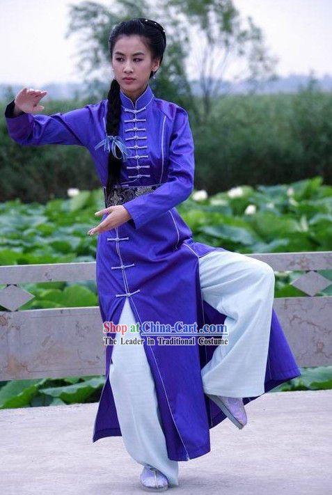 Kung Fu Competition Uniform Tai Chi Uniforms Martial Arts Suit ...