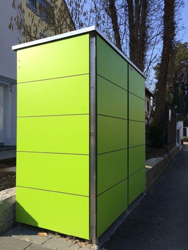 Fresh M lltonnenhaus M llboxen Garten Q GmbH