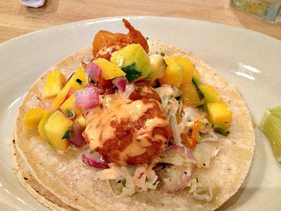 Calexico's Baja Fish Taco Calexico Restaurante 153 Rivington St. New York, NY 10002 http://www.calexiconyc.com 646-590-4172