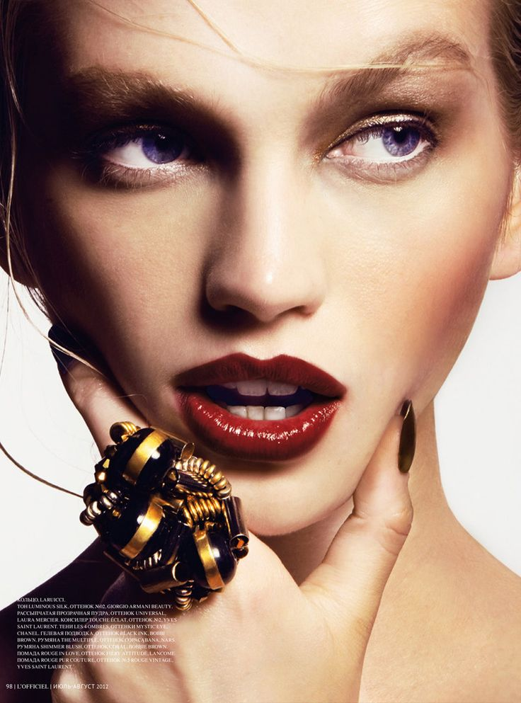 : Ukraine July, Bling Rings, Fashion Accessories, Kevin Sinclair, July Issue, Lofficiel Russia, Lips Rouge, Diana Farkhullina, Lofficiel Ukraine