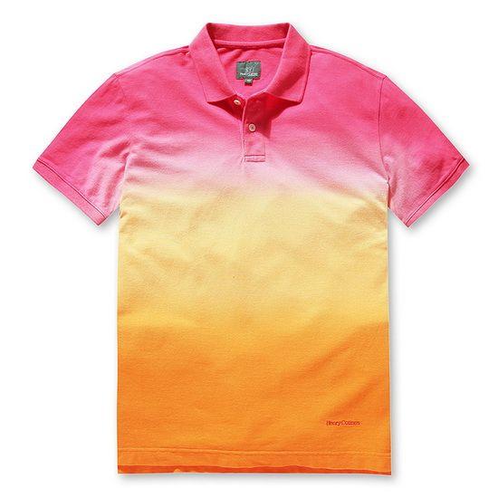 그 남자의 여름, 피케 티셔츠로 스타일리시하게! 믹스 그라데이션 디자인과 높은 퀄리티로 올여름, 그녀들의 시선 강탈! #엘롯데 헨리코튼 #남자패션 #피케티셔츠 #그라데이션 #맨즈스타일