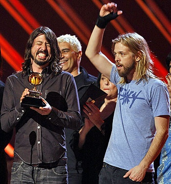 Very proud of the local lads on their Grammy wins - The Foo Fighters took home five Grammy awards    Read more: http://www.rollingstone.com/music/news/dave-grohl-on-the-foo-fighters-grammy-success-and-going-analog-20120215#ixzz1n4rPAkyH