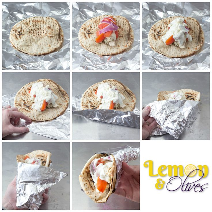 How to Wrap a Gyro! - Chicken Gyro