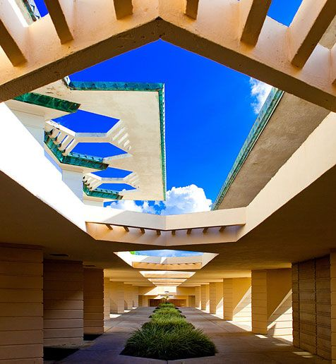 Top Ten College Campuses With Best Architecture! Florida Southern College!  Woop! Yup I