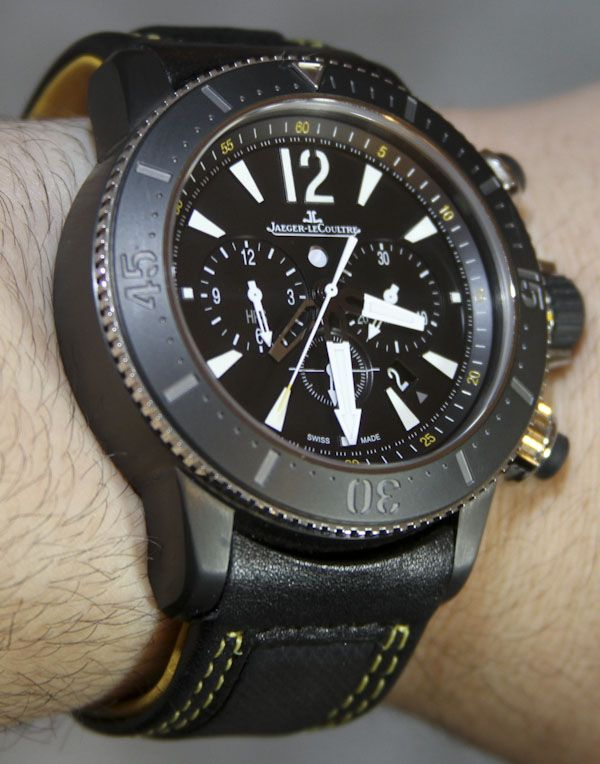 Jaeger-LeCoultre Master Compressor Diving Chronograph GMT Navy SEALs Watch Review