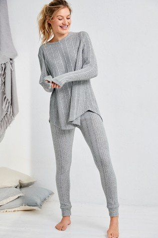 41334fef511 Womens Next Grey Soft Knitted Tunic Top - Grey in 2019