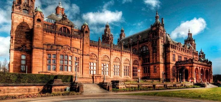 Kelvingrove Art Gallery and Museum opened in 1901 as part of the Glasgow International Exhibition. The museum displays 8,000 objects in 22 themed galleries with works by Salvador Dali, Dutch Old Masters, French Impressionists and well-known Scottish artists. It is also home to the Mackintosh and the Glasgow Style Gallery, the largest permanent display of work in the world by the key names in the Glasgow Style movement. ~Architecture from the past~
