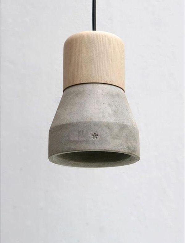 concret pendant light