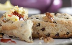 These buttery Irish scones are the perfect treat with breakfast or your afternoon cuppa tea.  Find the recipe: http://www.irishcentral.com/culture/food-drink/Crumbly-and-delectable-Irish-Kerrygold-butter-scones-recipe.html