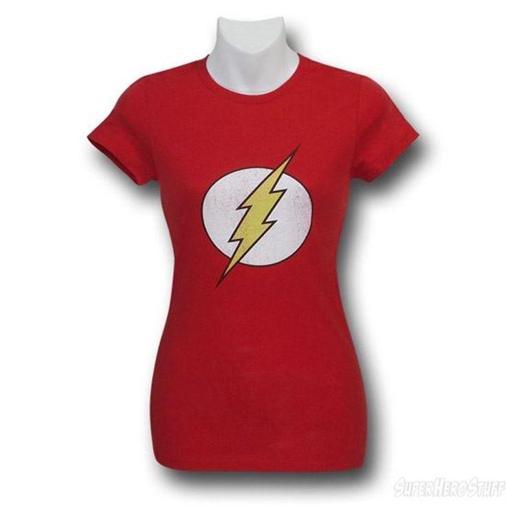 The Flash Distressed Symbol Women's T-Shirt