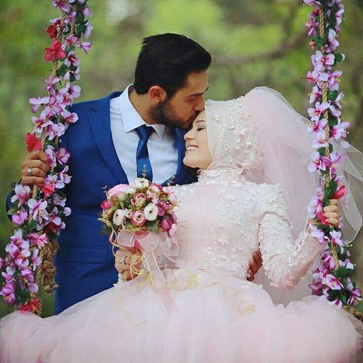 Wedding Couples Romantic Weddings Photos Ideas Hijabi Muslim Dresses Brides