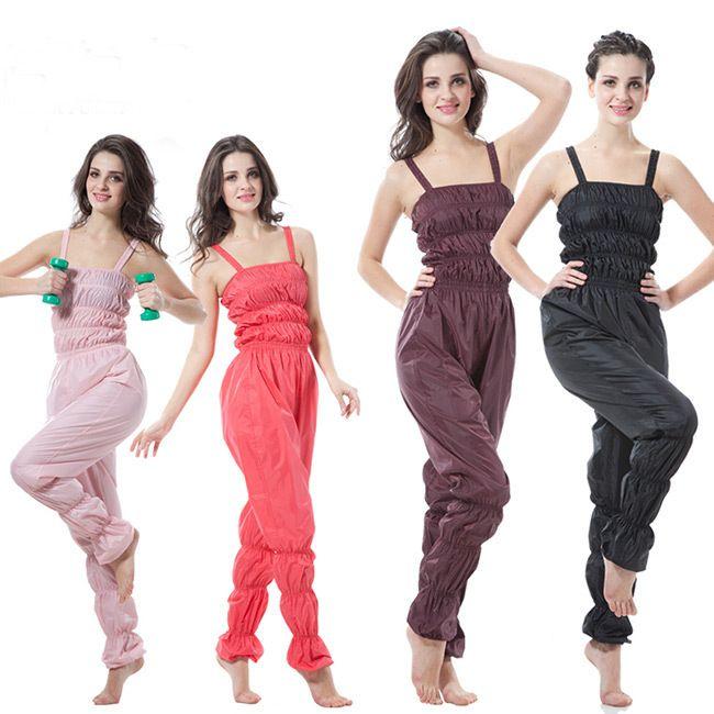 Women Aerobics Clothing Weight Loss Suit Slimming Fitness Pants Sauna Sauna Suit Women Sauna Pants Pant Sportwear MLXL2XL3XL