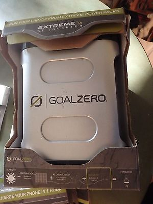 Other Emergency Gear 181415: Nos Goal Zero Solar Power System- Extreme Ac Inverter -Laptop -> BUY IT NOW ONLY: $59.99 on eBay!