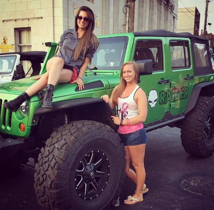 Pin on Jeep Girls