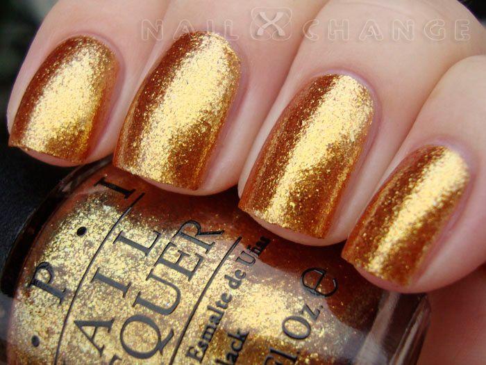 Opi Goldeneye nailXchange: NOTD: OPI...