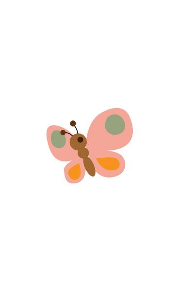 Butterfly Vector Image #kids #vectorimage #baby #character #butterfly http://www.vectorvice.com/kids-baby-vector