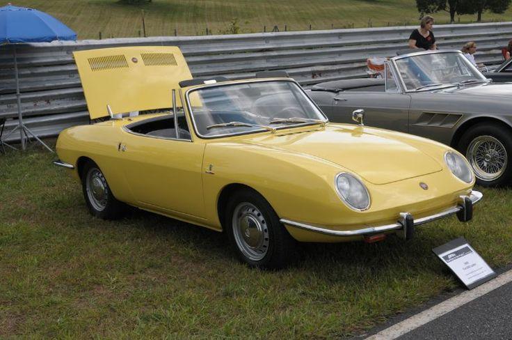 1968 fiat 850 spider supercars pinterest. Black Bedroom Furniture Sets. Home Design Ideas