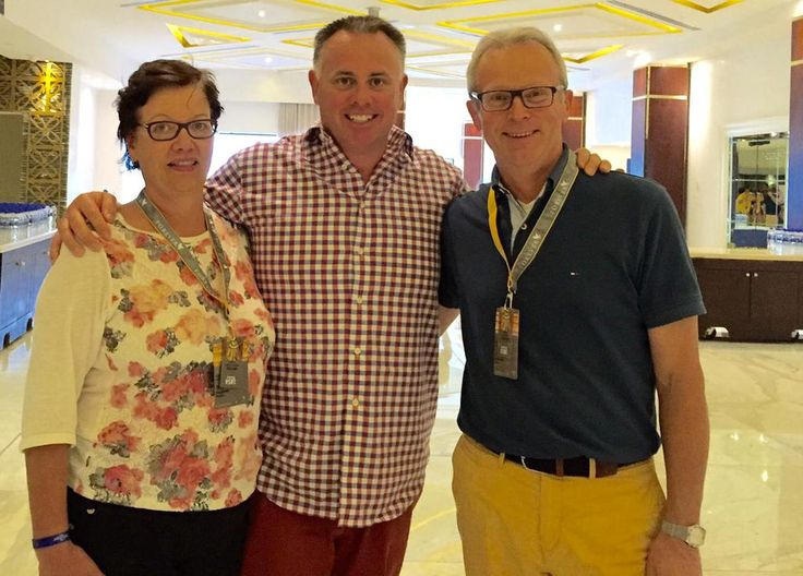Aiden O´Hare (Vice President of Forever Living Products) & us in September 2015