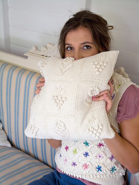 Ravelry: Herbaceous Cushion pattern by Martin Storey