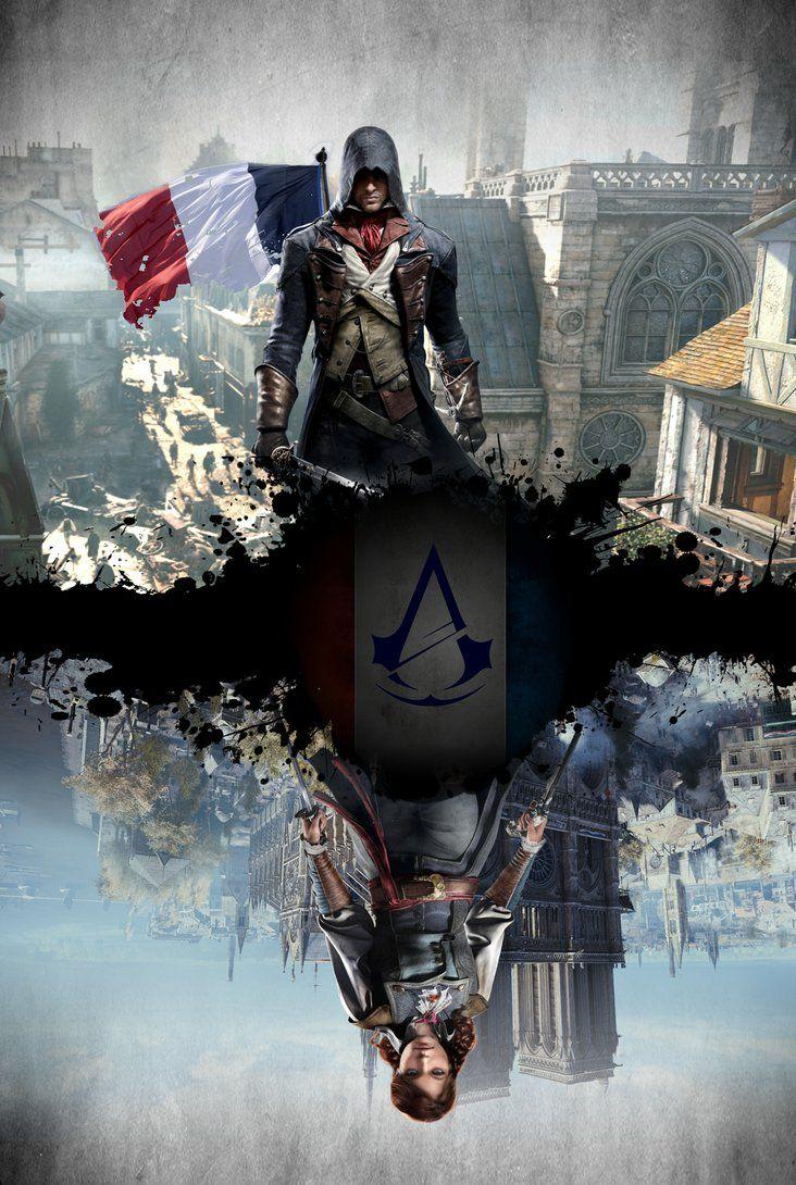 Assassin S Creed Unity Poster By Raidriar93 Assassins Creed