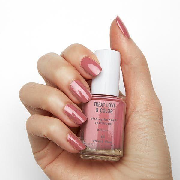 Essie Treat Love Colour 65 Crunch Time 13 5ml Superdrug Essie Treat Love Color Nail Polish Mauve Nails