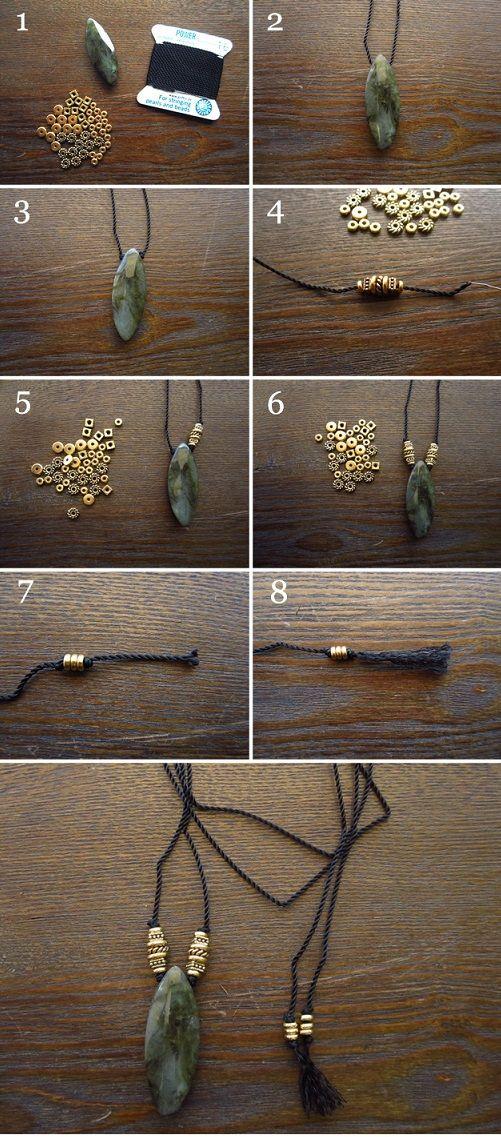 Comment fabriquer un collier sautoir ?
