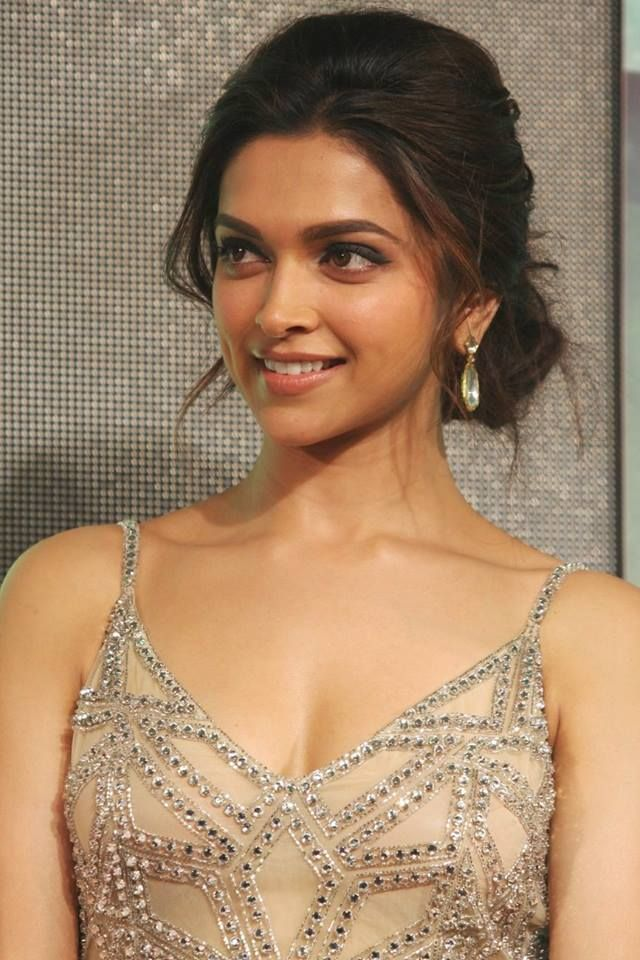 Deepika Padukone. love the hair