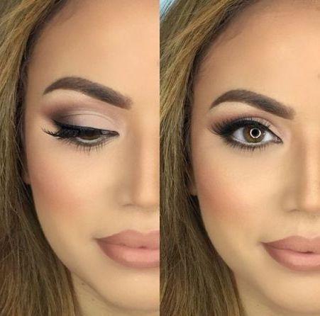 290 Imágenes de Maquillaje de Día, Noche, Fiesta, Natural, Rubias y Morenas … #maquillaje #makeup