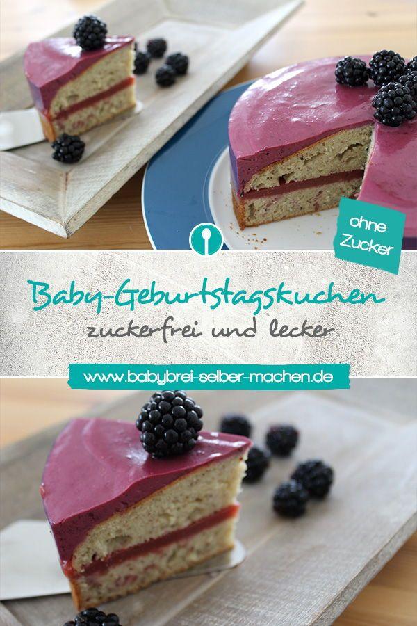 Kuchenrezept zum ersten Geburtstag: zuckerfrei und für Babys geeignet.   – Zuckerfreie Rezepte für Babys und Kleinkinder