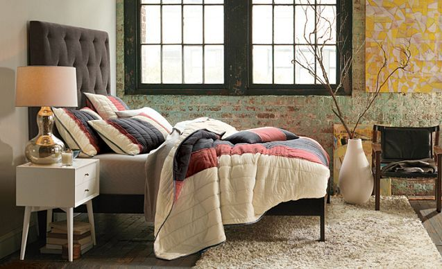 I Love The West Elm Bedroom Suites On Westelm.com | Fixer Upper | Pinterest  | Warm, Quilt And Warm Colors