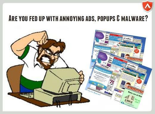 Are you fed up with annoying ads, malware and popup ads on your browser? Download this free software that will rid all the popup & malware from your browser