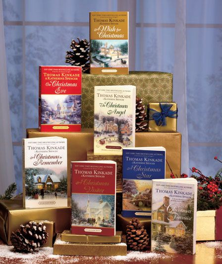 Thomas Kinkade Holiday 7-Book Set takes you to the coastal town of Cape Light at Christmastime. It's a picturesque New England village where people share an old-fashioned community spirit.