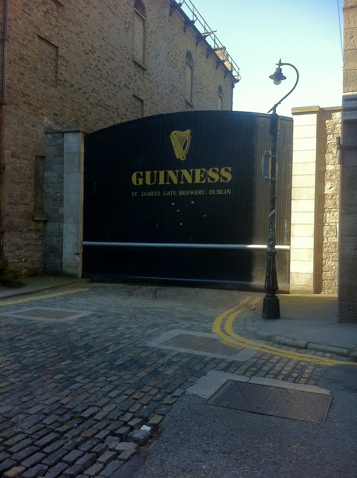 it's true - Irish guinness is better. Guinness Factory in Dublin, Ireland