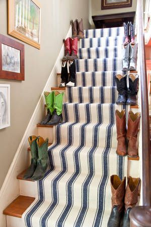 82 best stair ideas images on pinterest home ideas for Woven carpet for stairs