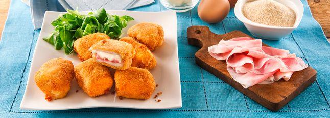 Mini cordon bleu - Ricetta Facile, pronta in 20 Minuti - Le Ricette Galbani