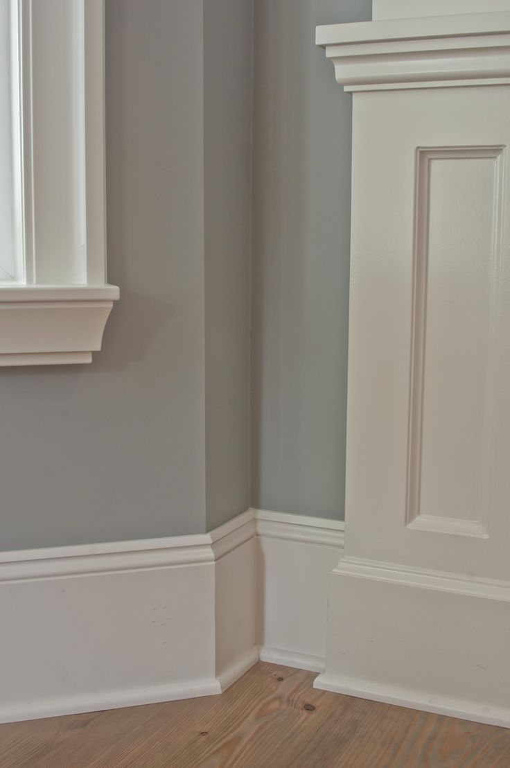 The Three Best Off Whites By Benjamin Moore - Vancouver Painting Contractors: Warline Trim BM-White Dove Walls-BM Coventry Gray
