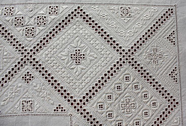 Lefkara embroidery ~ by Joke Bosman