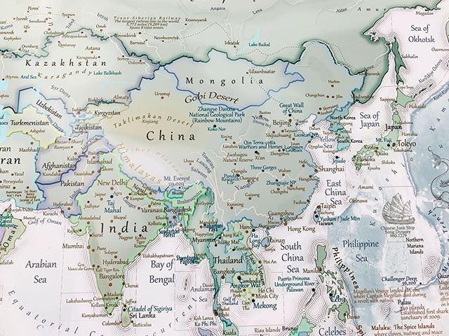 The Gobi Desert is the largest desert in Asia and fifth ...