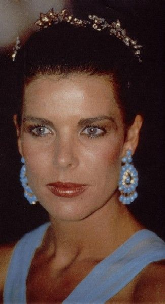 Princess Caroline of Monaco at the Red Cross Ball.August 4,1989.