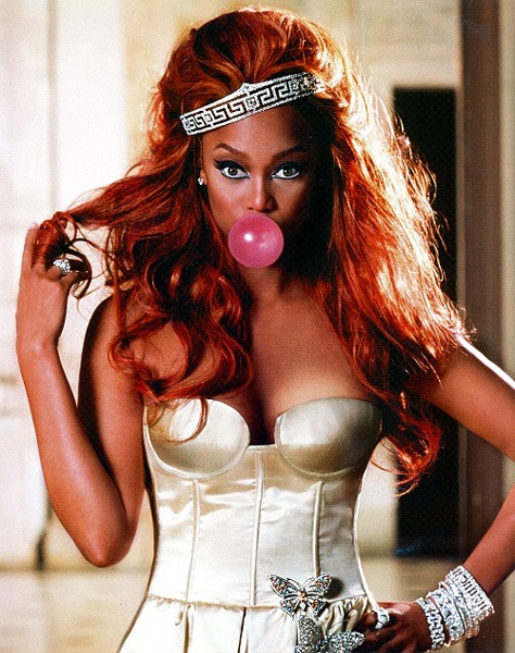 Ok not a big fan of her but shes going into the pretty people board cause i like this shoot! Throwback Tyra Banks 2005