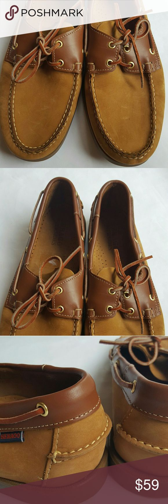 Mens Sebago Docksides Deck /Boat Shoes size 13 Mens Sebago Docksides Deck Shoes size 13. In excellent condition, used once or twice. Brown leather. Sebago Shoes Loafers & Slip-Ons