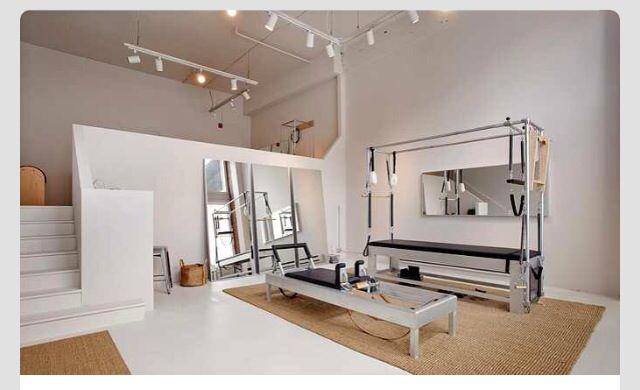 Dainty little pilates studio
