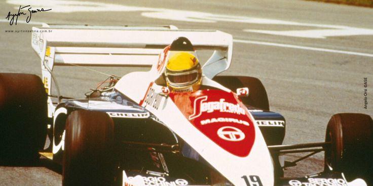 Grande Prêmio do Canadá – 1984   Ayrton Senna