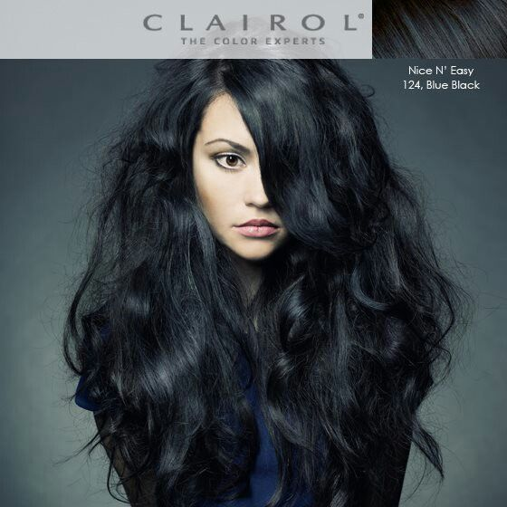Clairol Natural Blue Black Hairstyle Inspirations 2018